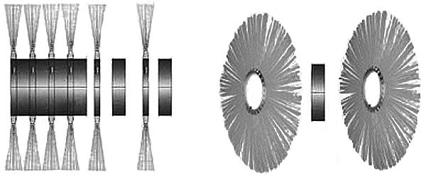 металлический щёточный диск