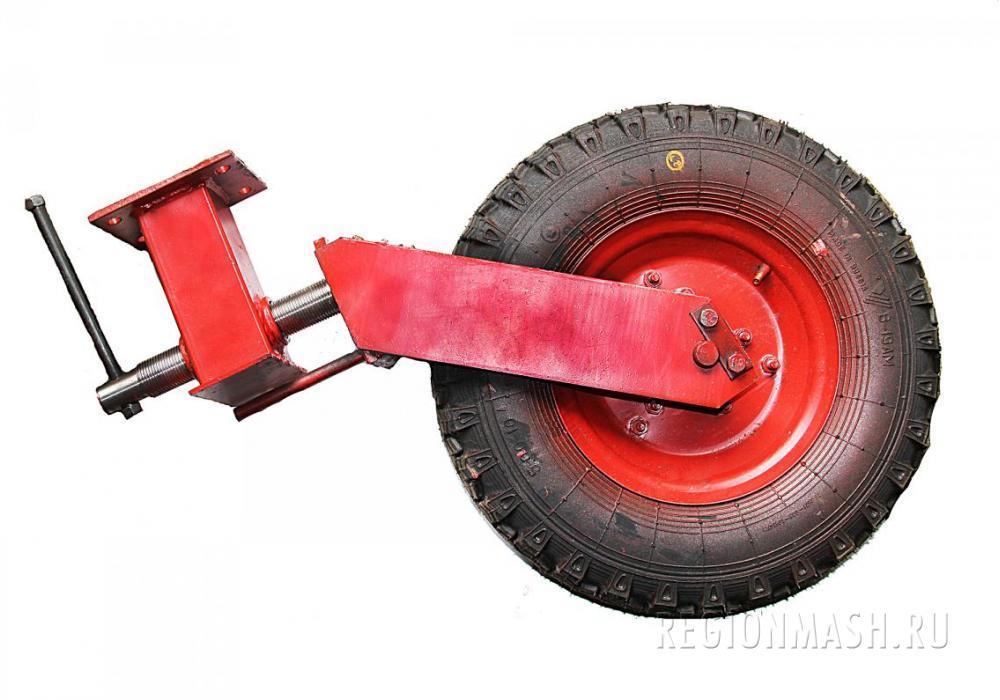 Стойка колеса для щёточного оборудования.
