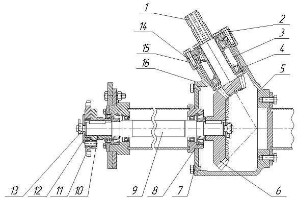 конический редуктор щётки мтз
