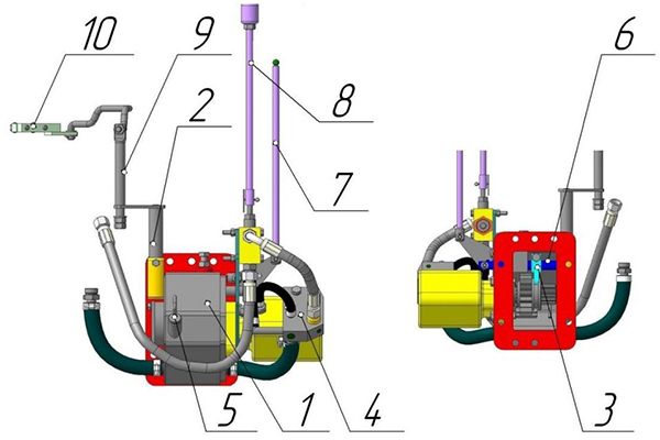 Комплект шестерён для установки ГХУ на трактор МТЗ-82.1