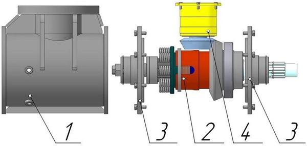 Редуктор конический для фрезы ФД-567